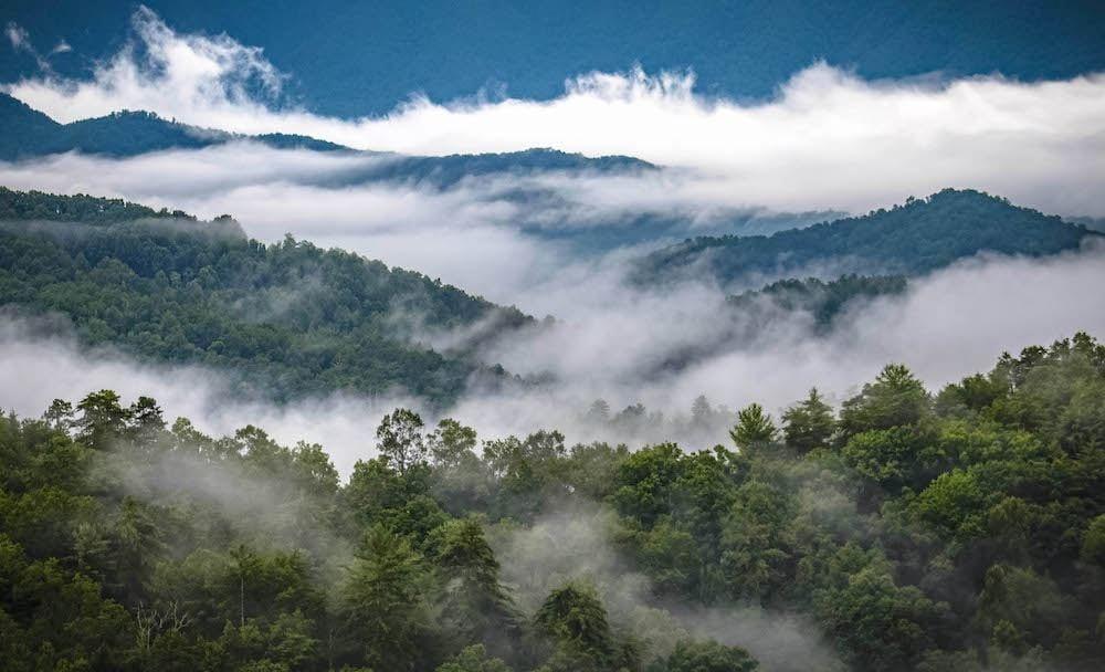 Smoke in the Smoky Mountains