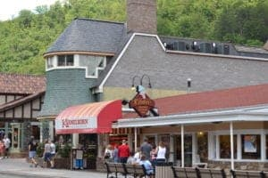 Kilwin's ice cream in Gatlinburg TN.