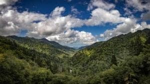 Newfound Gap in the Smoky Mountains