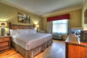 Guest room inside The Appy
