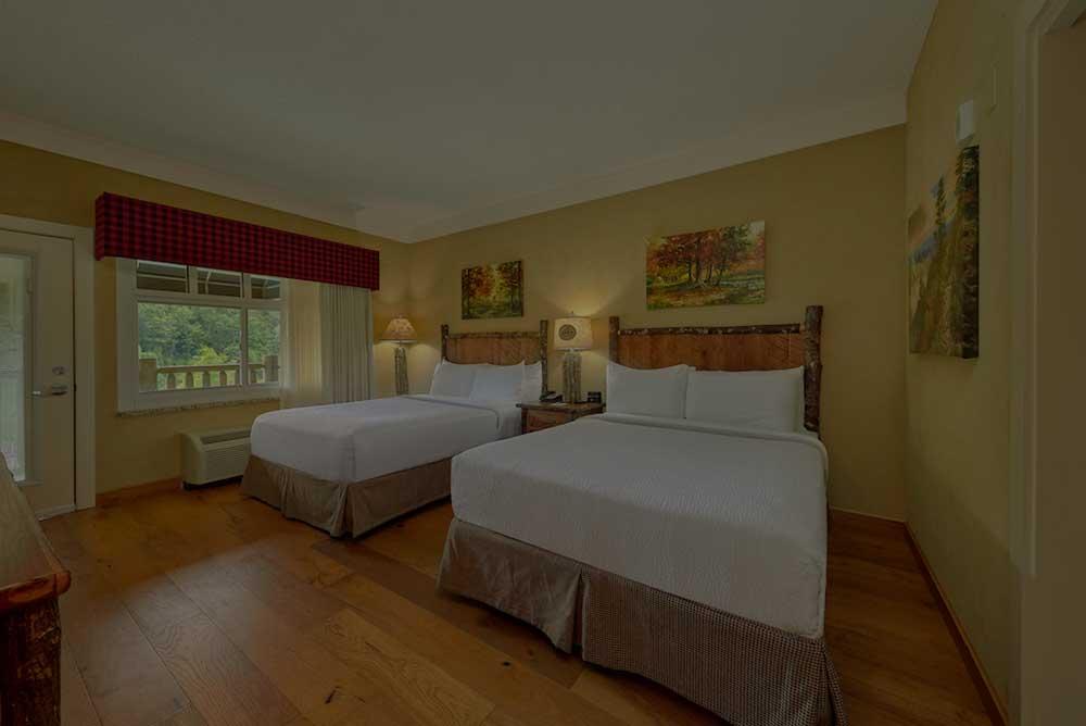 bedroom at Appalachian Lodge